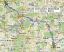 Dienstreise Bonn Route