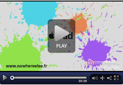 iPad Werbe-Trailer
