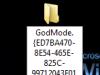 Windows 7 GodMode Foldername